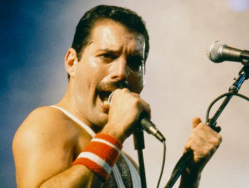 18 de febrero: Freddie Mercury hacía su última aparición pública en 1990