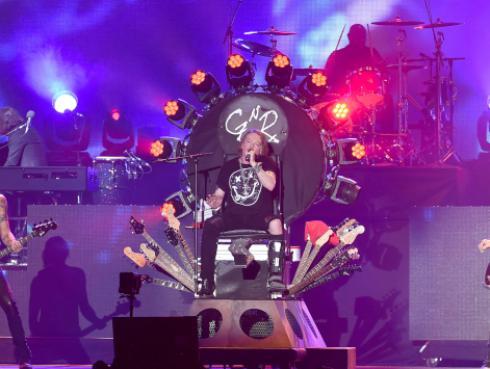 El mensaje para despedir el 2018 de Guns N' Roses