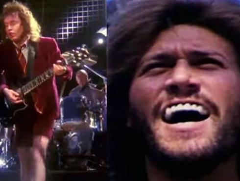 ¿AC/DC y los Bee Gees juntos en una canción?