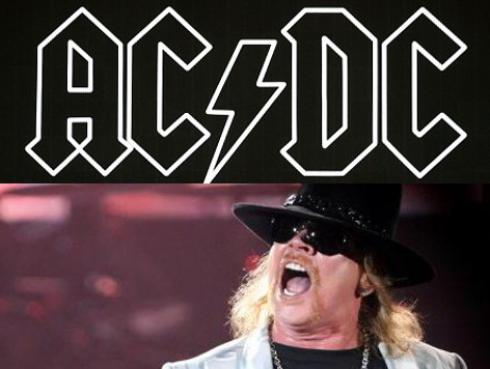 AC/DC devolverá dinero a quienes no les guste Axl Rose como vocalista