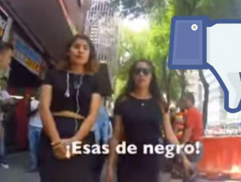 Mira la increíble reacción de estas chicas al ser acosadas en la calle [VIDEO]