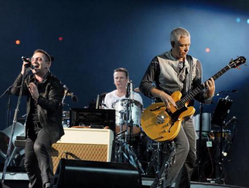 Adam Clayton, bajista de U2, reveló que no la pasó bien en la última gira de 'The Joshua tree'