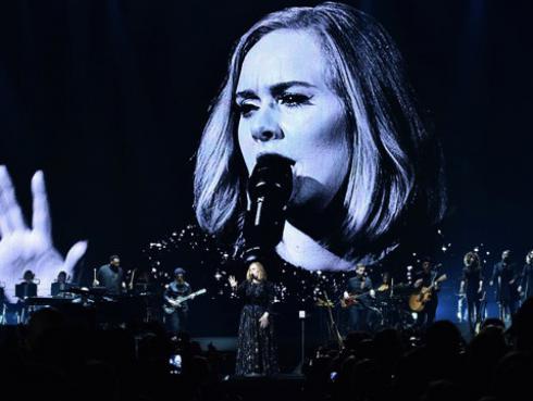 Adele solo lucirá este vestido en toda su gira mundial [FOTO]