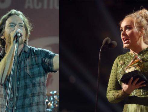 Pearl Jam y Adele hicieron covers de Brandi Carlile para una buena causa