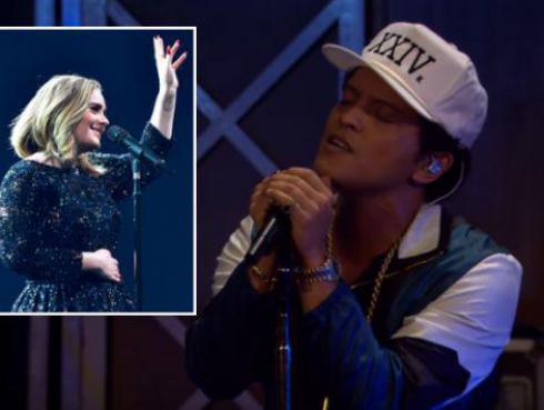 ¡Bruno Mars interpretó 'All I Ask', tema que coescribió con Adele! [VIDEO]