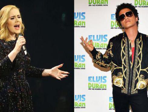 ¡Bruno Mars tildó de 'diva' a Adele por esta razón!