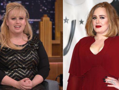 Adele se niega a que la actriz Rebel Wilson la interprete en película biográfica