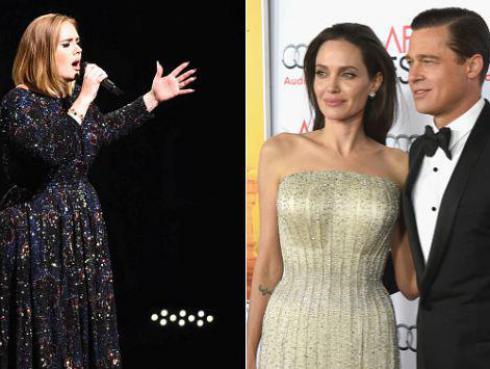 Adele dedica concierto a Angelina Jolie y Brad Pitt tras separación [VIDEO]