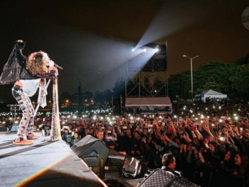 Aerosmith arrancó gira 'Rock N' Roll Rumble' en Colombia [FOTOS Y VIDEOS]