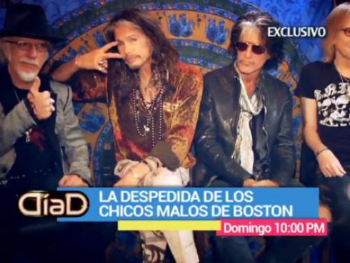 Aerosmith recuerda vida de excesos en entrevista exclusiva  [VIDEO]