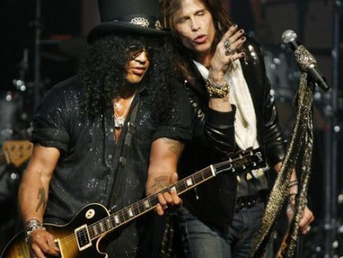 ¿Los Guns N' Roses estarán en el concierto de Aerosmith?