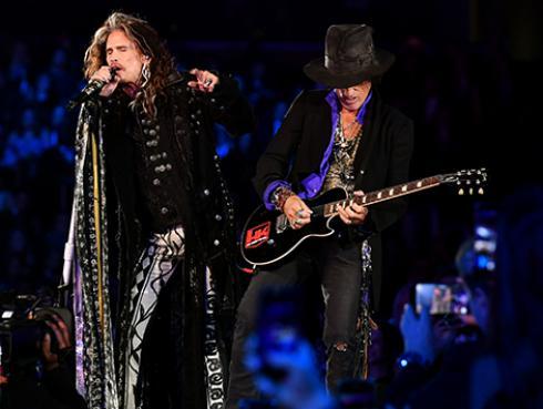Aerosmith le pide a sus fans respetar las medidas de prevención para evitar la propagación del coronavirus