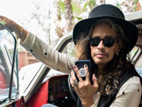 Aerosmith: Steven Tyler se convierte en abuelo por quinta vez