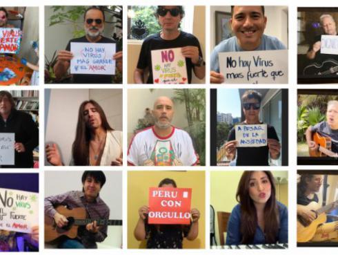 Alex Lora, Amén, Raúl Romero se unen para cantar 'No hay virus más fuerte que el amor'