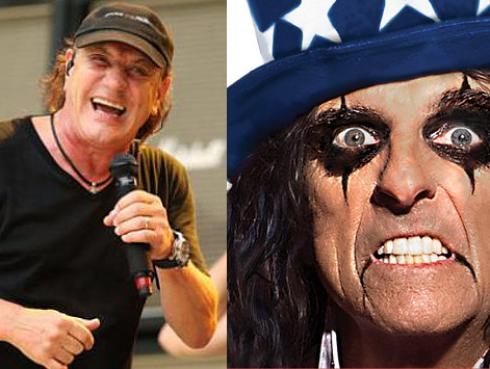 ¿Alice Cooper presidente? Promete hacer que Brian Johnson regrese a AC/DC [VIDEO]