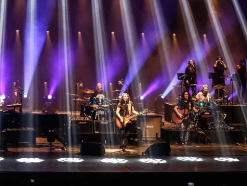 Mira las fotos del concierto de Amén en el Teatro Nacional