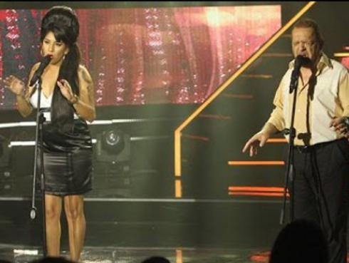 Imitadores de Amy Winehouse y Joe Cocker cantaron 'Up where we belong' a dúo [VIDEO]
