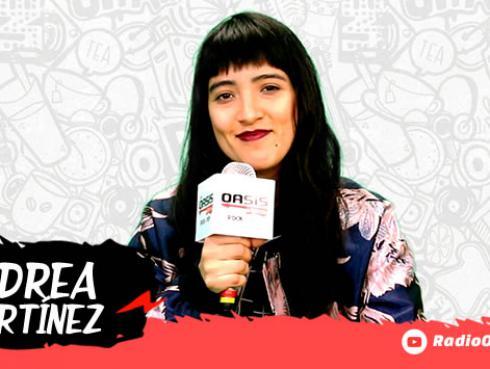 Andrea Martínez habla de su último disco 'Carta para ustedes' [VIDEO]