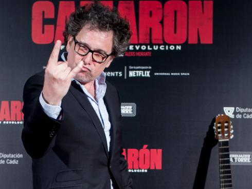 Andrés Calamaro debutará como guionista en la película 'Bandido'