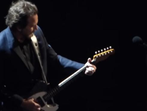 Así fue la presentación de Pearl Jam en su ingreso al Rock and Roll Hall of Fame