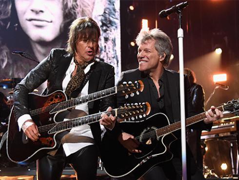 Así ha cambiado 'Livin' On A Prayer' de Bon Jovi en 30 años