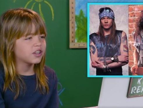 Así reaccionan los niños al escuchar por primera vez a los Guns N' Roses [VIDEO]
