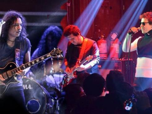 Así se desarrolló el Acustirock con Amén, Libido y otras bandas locales
