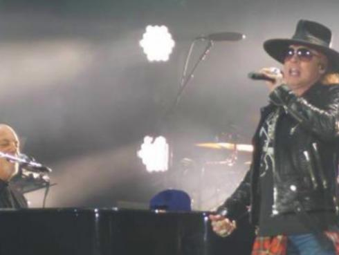 Axl Rose se unió a Billy Joel para cantar 'Highway To Hell', de AC/DC