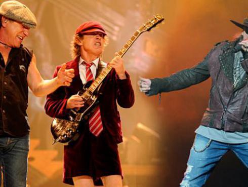 Filtran ensayos de Axl Rose con AC/DC antes de la gira [VIDEO]