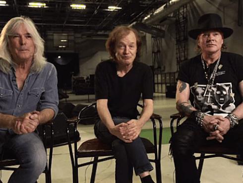 ¡Este es el primer video de Axl Rose junto a AC/DC!