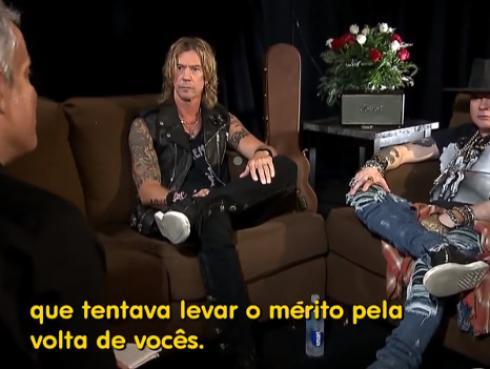 Axl Rose revela detalles de cómo se logró la reunión de Guns N' Roses [VIDEO]