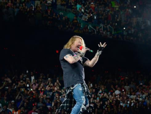 Axl Rose se opone a que Donald Trump use canciones de Guns N' Roses en actos políticos