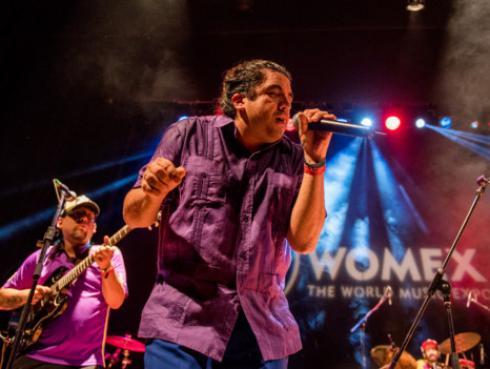 ¡Bareto fue lleno total en la última edición de la Feria musical Womex en España! [VIDEO]