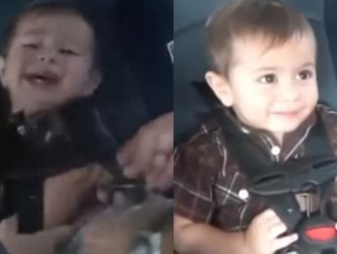 ¡Niño deja de llorar solo cuando escucha a Bob Marley! [VIDEO]