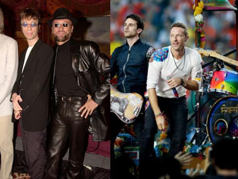 ¿Coldplay y Bee Gees juntos en Glastonbury 2016?