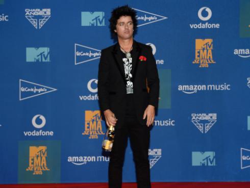 Billie Joe Armstrong disfrutó de concierto de Post Malone