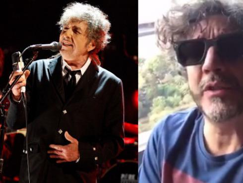 Fito Paez celebra premio Nobel de Bob Dylan [VIDEO]