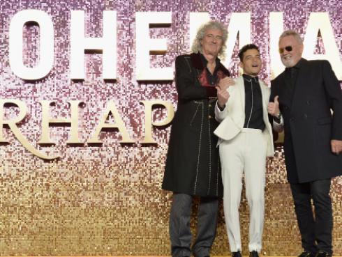 El mensaje de Brian May, de Queen, a Rami Malek tras su nominación a los Golden Globes [FOTO]