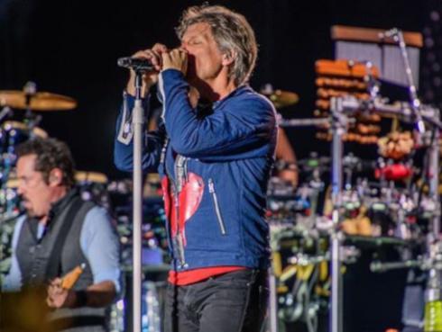 Bon Jovi inició gira mundial