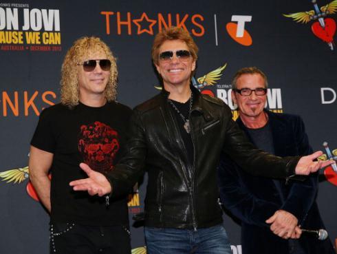 ¡Bon Jovi abre convocatoria en busca de teloneros para gira 2017!