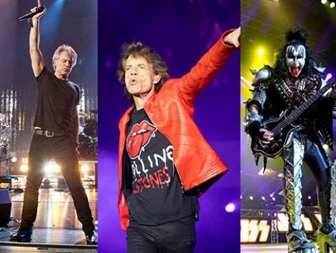 Bon Jovi, The Rolling Stones y Kiss serán homenajeados en conocido festival