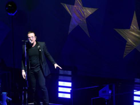 Bono y el sonado romance con actriz mexicana