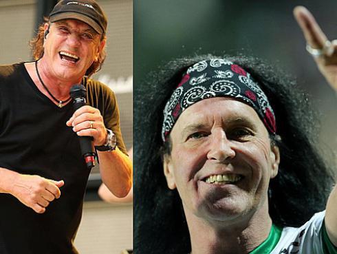 AC/DC: ¡Dave Evans quiere regresar a la banda por posible sordera de Brian Johnson!