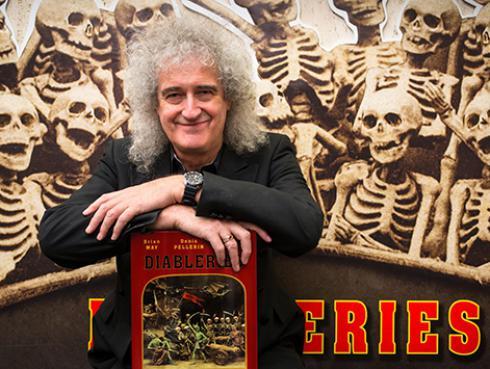 Brian May agradeció los mensajes de sus fans tras intervención médica