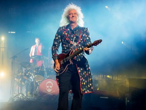 Brian May, guitarrista de Queen, revela 'cameo' de Adam Lambert en 'Bohemian Rhapsody' [FOTO]