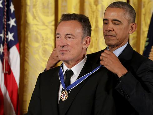 Barack Obama sobre Bruce Springsteen: