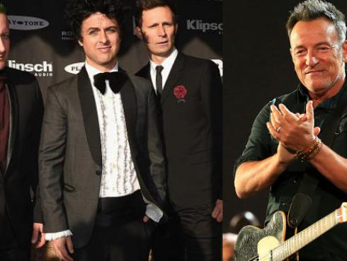 ¡Bruce Springsteen confesó su amor por Green Day!