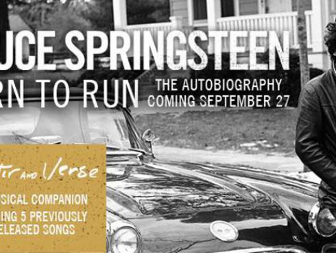 Bruce Springsteen se viene con disco recopilatorio y autobiografía