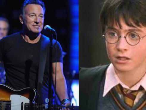 ¡La vez que 'Harry Potter' choteó a Bruce Springsteen!