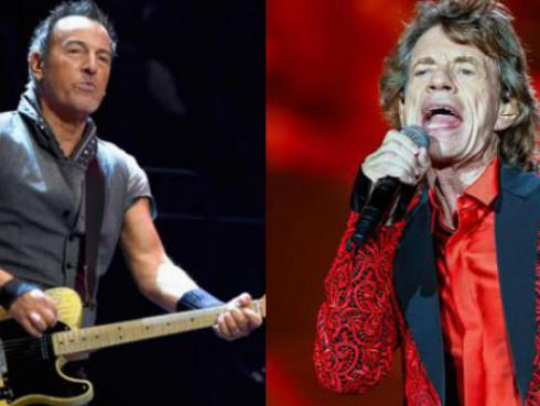 ¡Bruce Springsteen reveló cuál era su fantasía más recurrente y tiene que ver con Mick Jagger!
